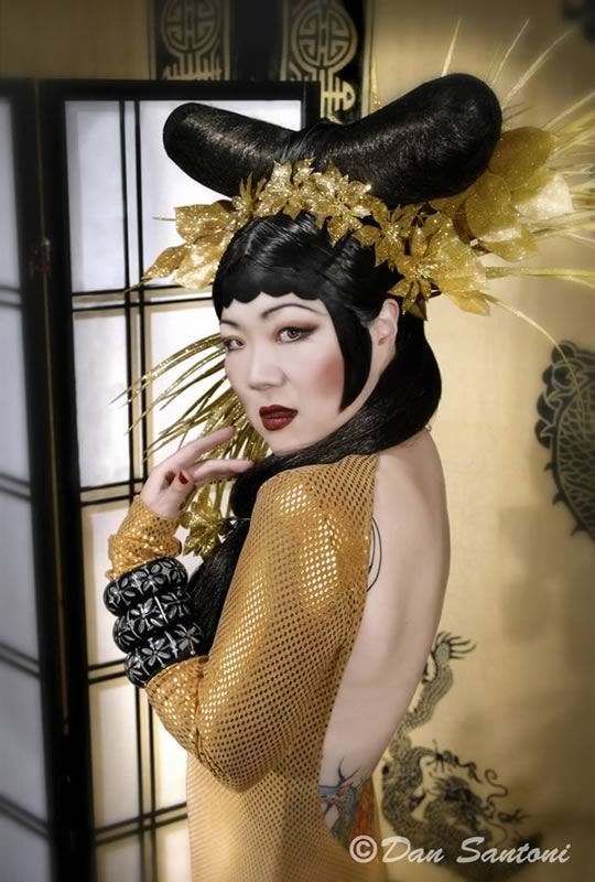 Vintage Margaret Cho - Dan Santoni Photography